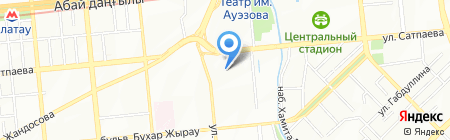 Магистр на карте Алматы