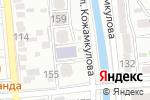 Схема проезда до компании Mainstream Partners в Алматы