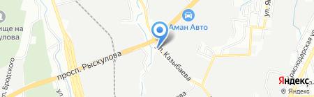 COND на карте Алматы