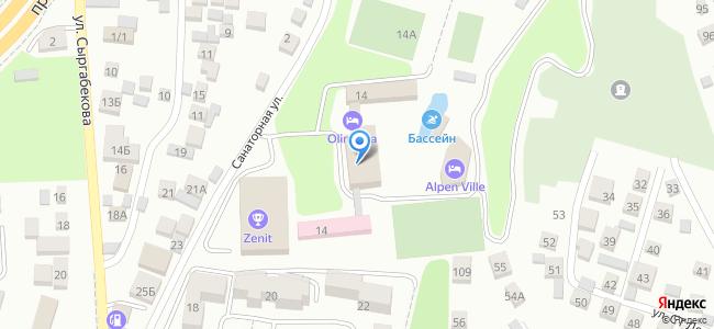 Казахстан, Алматы, микрорайон Баганашыл, Санаторная улица, 14