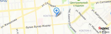 Специальный научно-исследовательский институт пожарной безопасности и гражданской обороны на карте Алматы