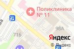 Схема проезда до компании ROSSA-Ломбард, ТОО в Алматы