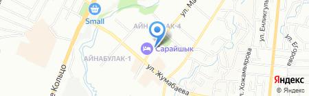 Sanam Tour на карте Алматы