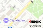 Схема проезда до компании Айнабулак Дент в Алматы