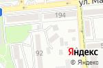 Схема проезда до компании Автоматик Сервис в Алматы