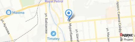 Жана Баспалдак на карте Алматы