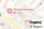 Схема проезда до компании Gym Pro в Алматы
