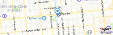 АлматыЭнергоСбыт на карте Алматы