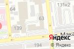 Схема проезда до компании Стальная линия в Алматы