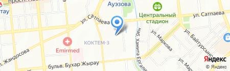 Смешинка на карте Алматы