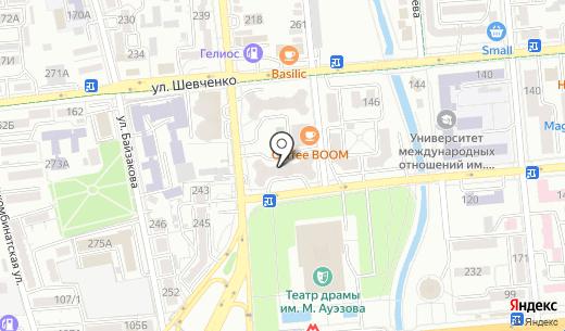 SECURITY.KZ. Схема проезда в Алматы
