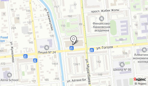 Магазин сотовых аксессуаров. Схема проезда в Алматы