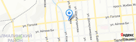Тигруля на карте Алматы