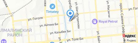 Роксана на карте Алматы