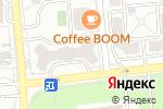 Схема проезда до компании SECURITY.KZ в Алматы