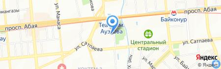 Sun City Hotel на карте Алматы