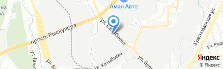 Кондитерский цех на карте Алматы
