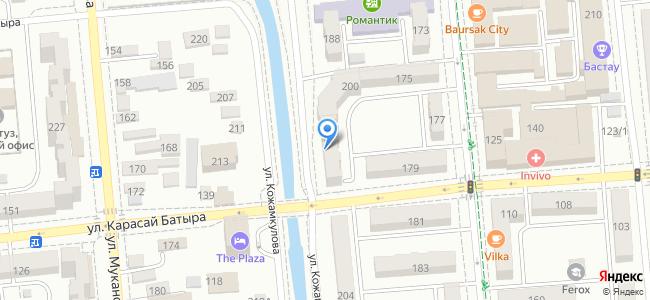 Казахстан, Алматы, улица Кожамкулова, 202