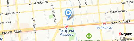 Сезам на карте Алматы