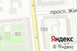 Схема проезда до компании Океан в Алматы