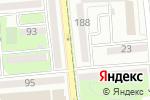 Схема проезда до компании Рауан-Дент в Алматы