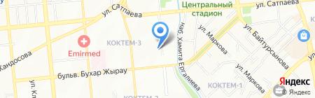 Айс Стом на карте Алматы