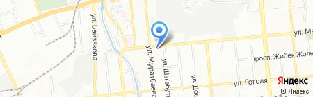 Участковый пункт полиции №25 Алмалинского района на карте Алматы