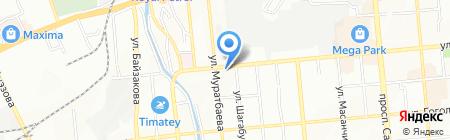 Real на карте Алматы