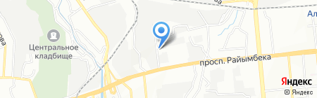 ВетЗащитаАзия ТОО на карте Алматы