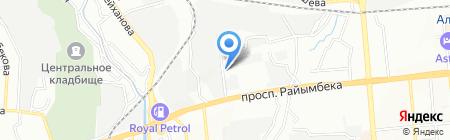 Гериал на карте Алматы