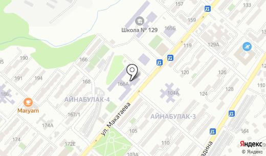 Школа-гимназия №110. Схема проезда в Алматы
