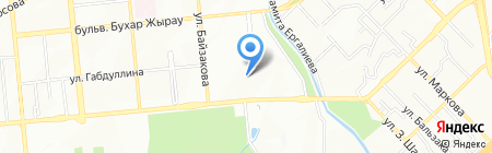 Дирекция по строительству объектов спорта на карте Алматы