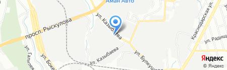 Армаком на карте Алматы
