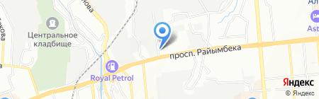 Ветеринарная аптека на карте Алматы