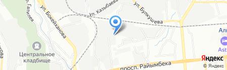 DOST OTO на карте Алматы
