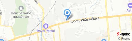 Abat-S.kz на карте Алматы