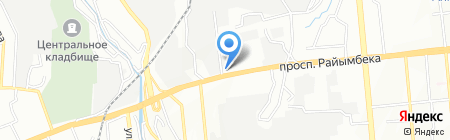 Floridis на карте Алматы