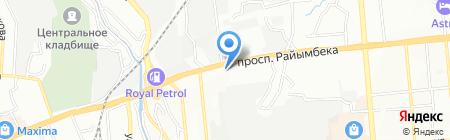 Жастар на карте Алматы