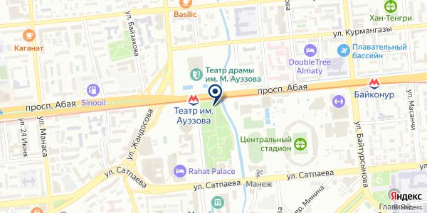 Fantasy World Almaty на карте Алматы
