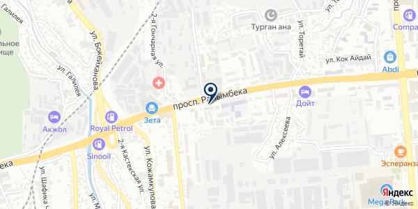Меркурий Company на карте Алматы