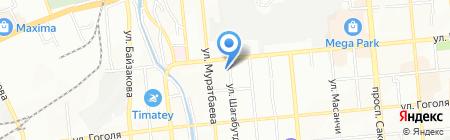 Ви Дент Мед на карте Алматы