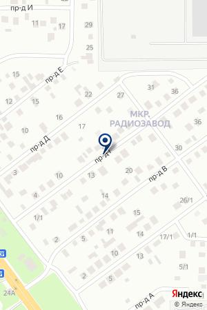 АНИТАПЛЮС на карте Яи