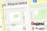 Схема проезда до компании Ви Дент Мед в Алматы