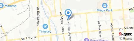 Ратибор на карте Алматы