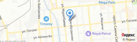 Почти даром на карте Алматы