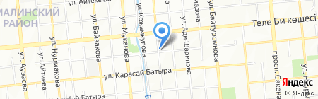 Блинница на карте Алматы