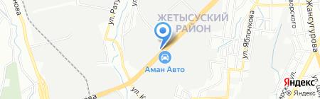 Управление производственно-технологической комплектации АО на карте Алматы