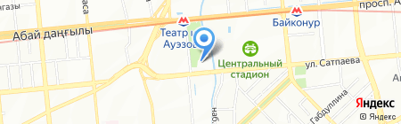 Arline на карте Алматы