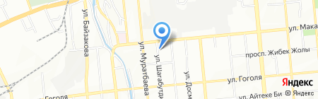 Nursapa на карте Алматы