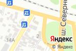 Схема проезда до компании Сатти в Алматы